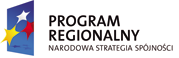 Program Regionalny Narodowa Strategia Spójnosci